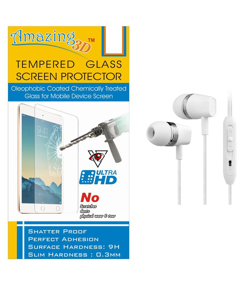 Lenovo K3 Note Tempered Glass Screen Guard by Amazing 3d
