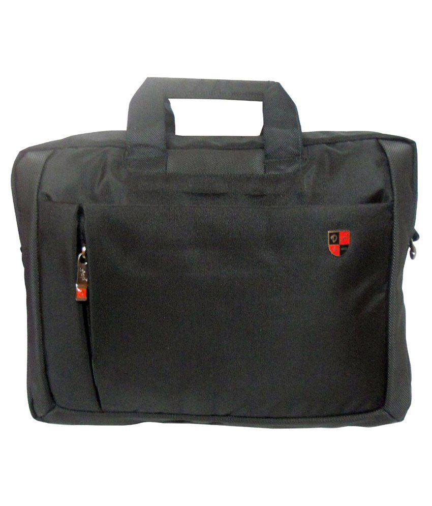 Donex Polyester Laptop Cases-Black