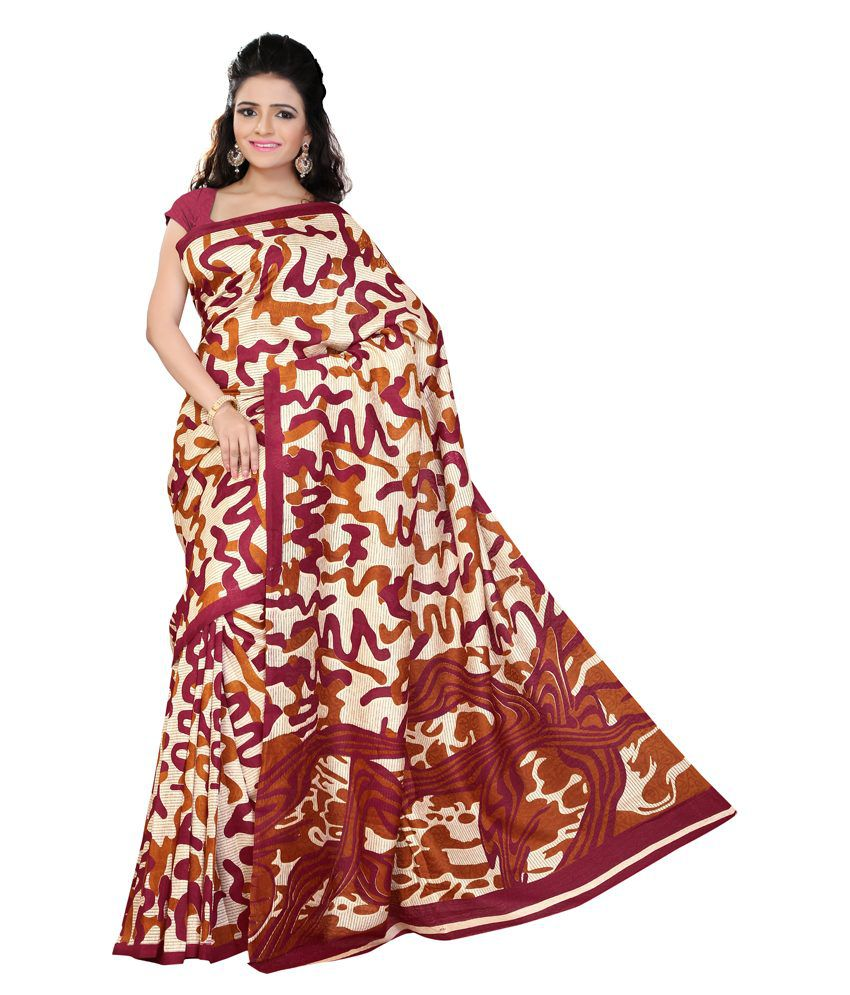 Khushali Multicoloured Satin Saree