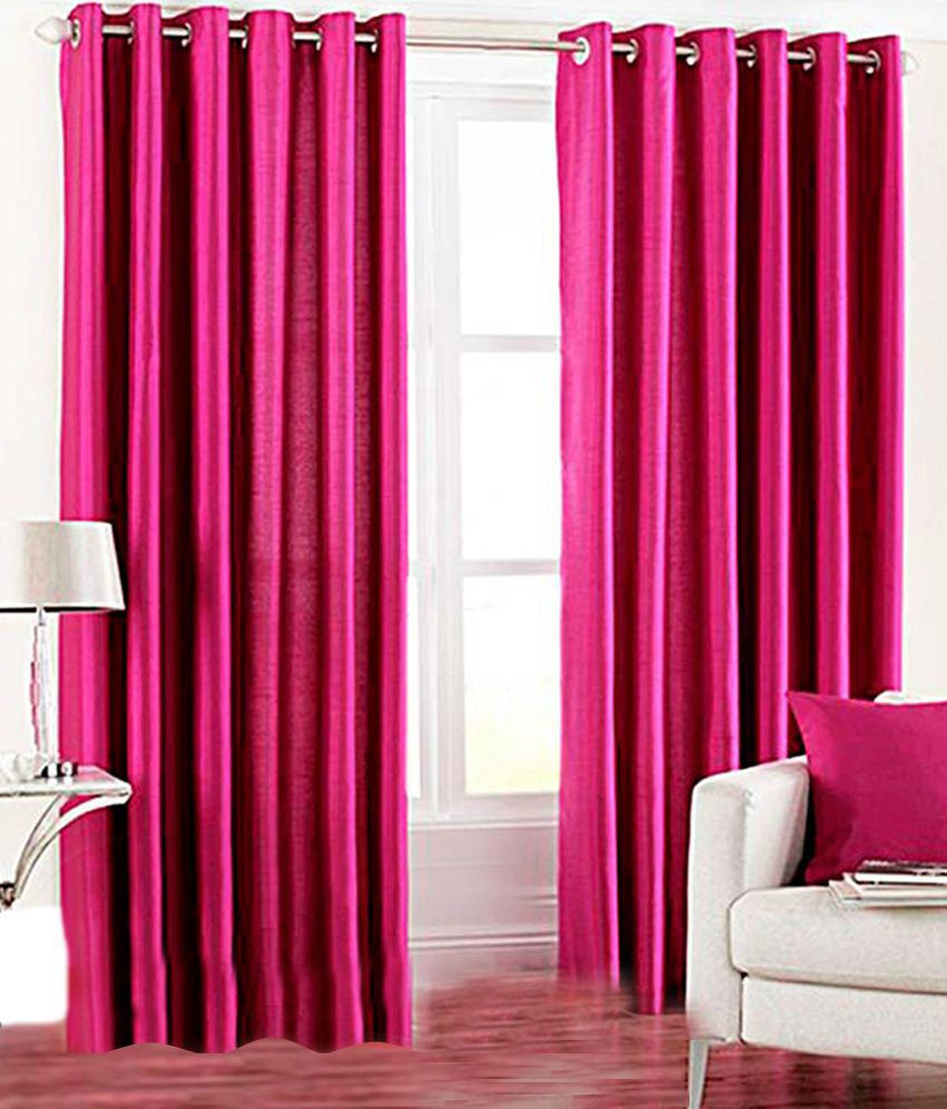 Tanishka Fabs Buy 2 Get 2 Door Eyelet Curtains