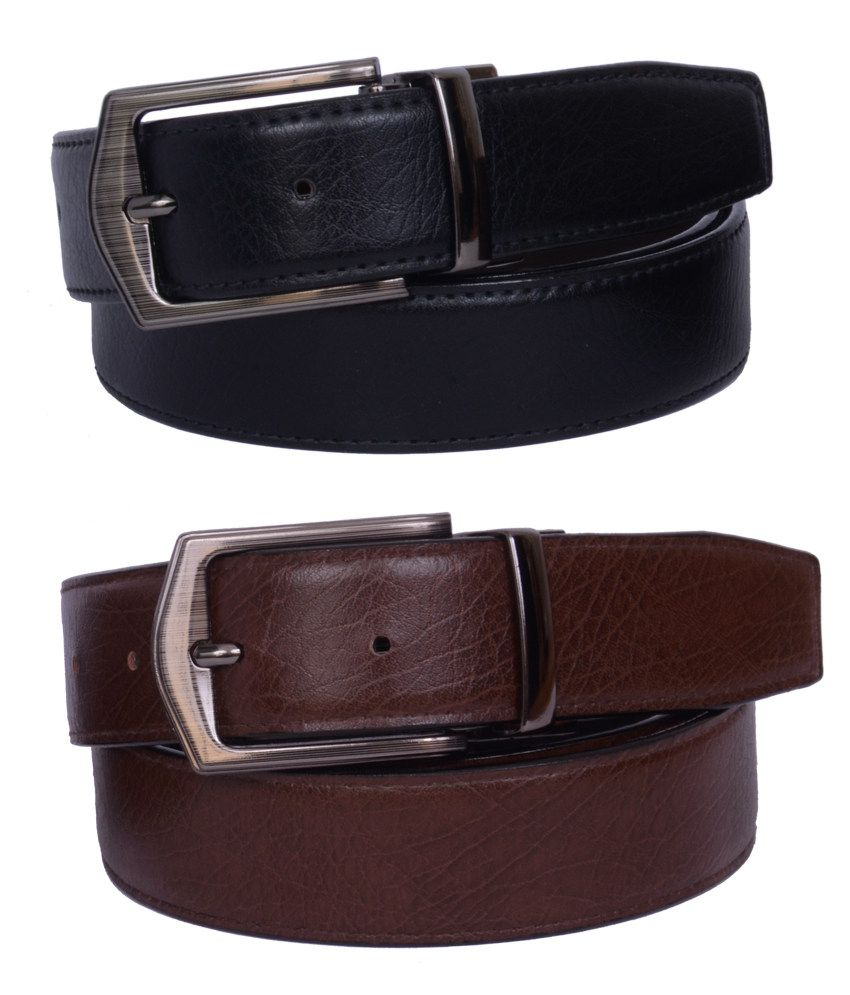 The Brandstand Black Non Leather Belt