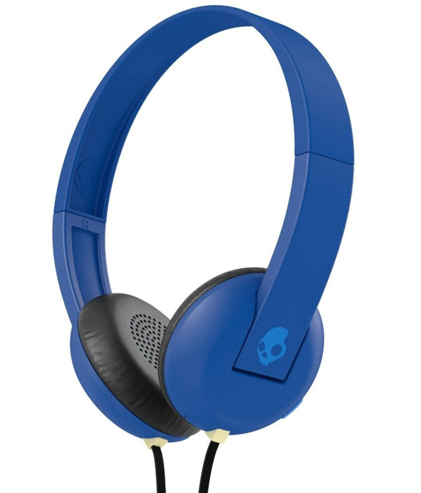 77736cf4517 Skullcandy Uproar S5urht-454 Over Ear Wired Headphone With Mic Blue - Buy  Skullcandy Uproar S5urht-454 Over Ear Wired Headphone With Mic Blue Online  at Best ...