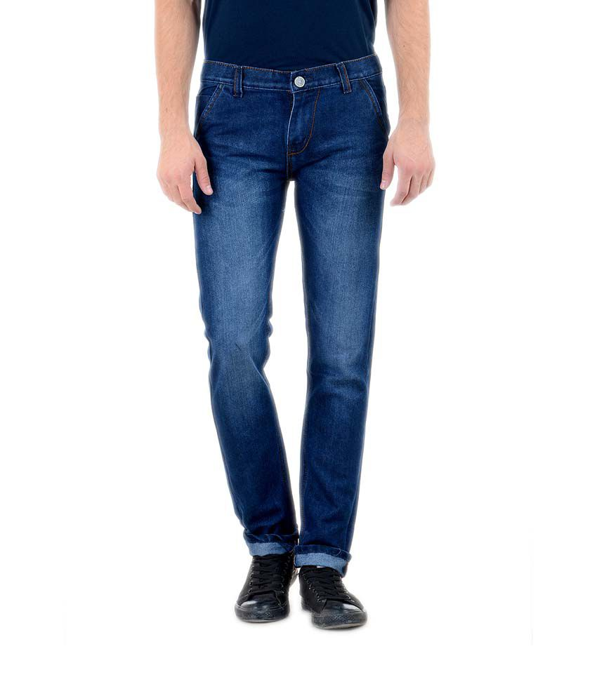 Denim 86 Blue Slim Fit Jeans