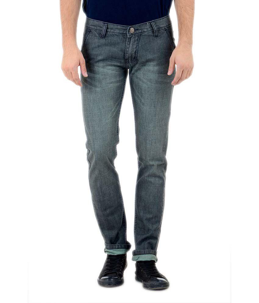 Denim 86 Grey Slim Fit Jeans