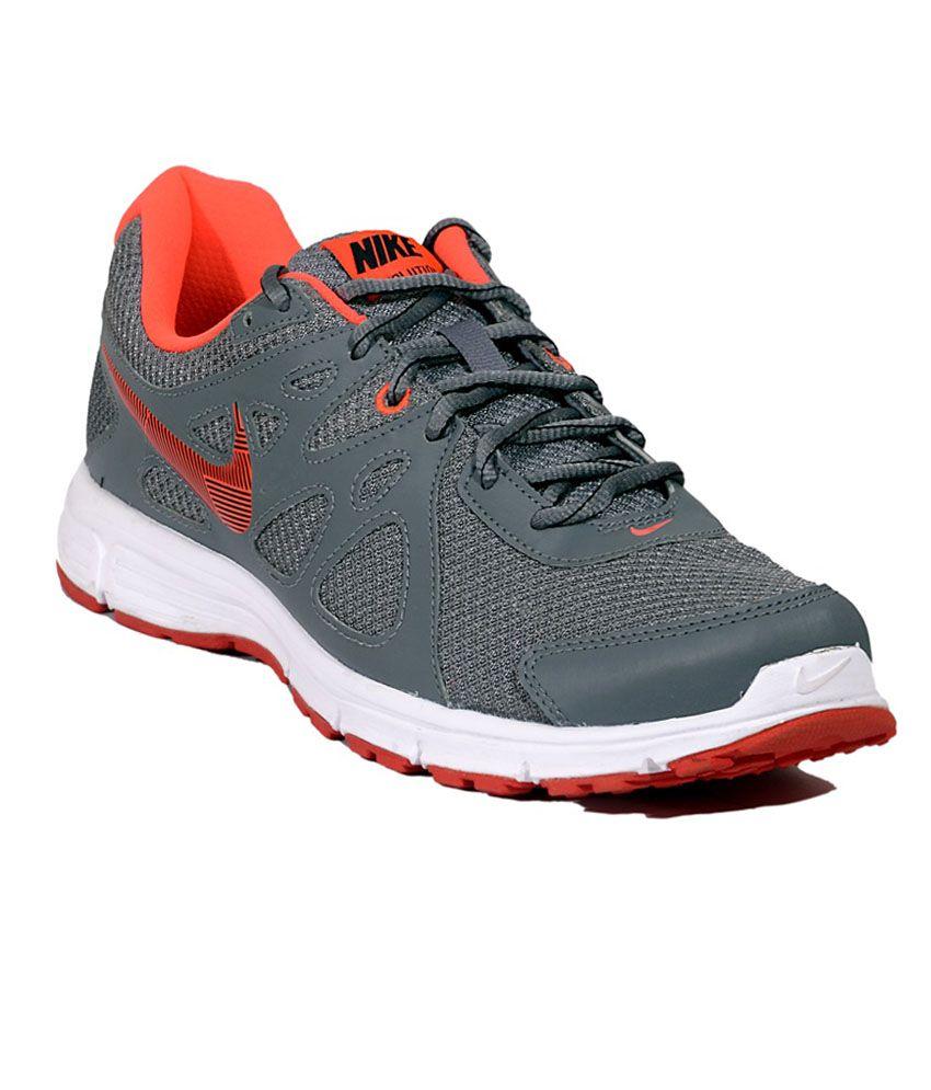 nike revoluntion 2 grey sports shoes buy nike