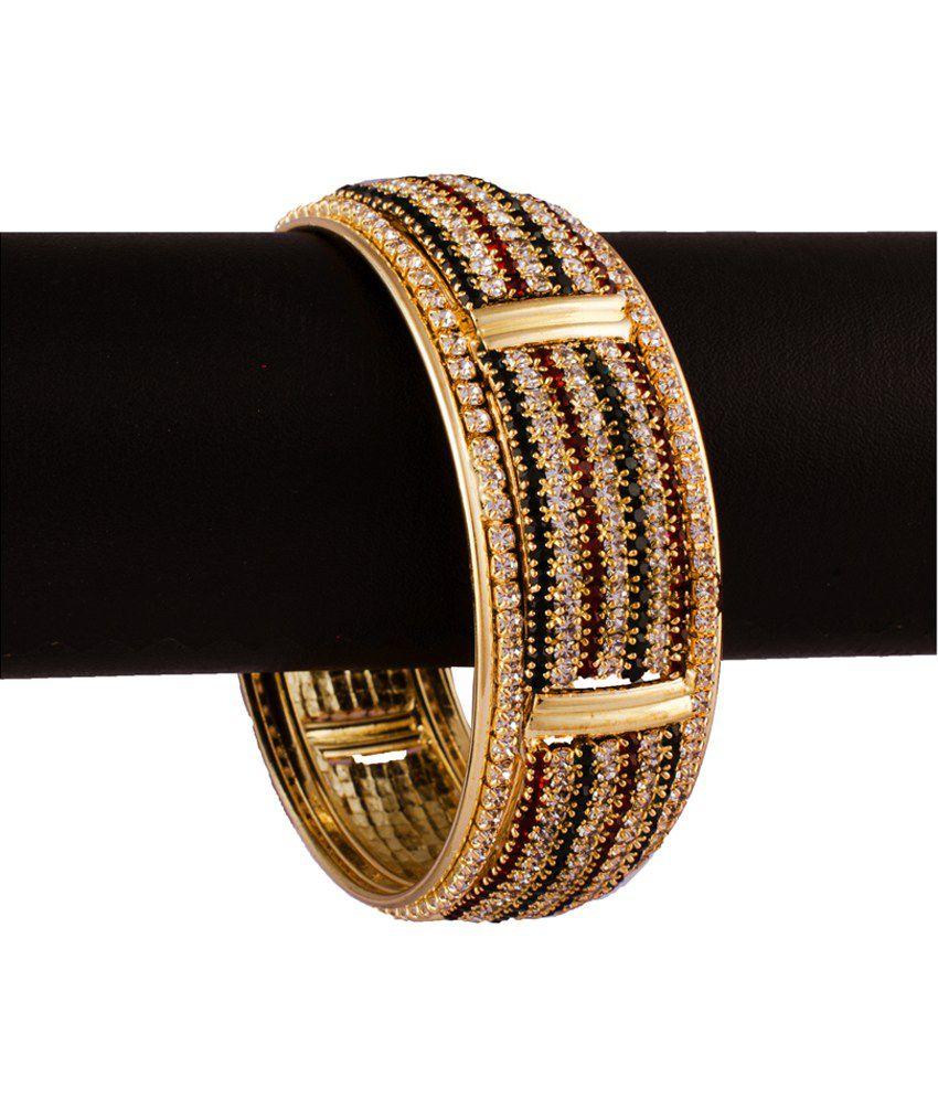 R18Jewels-Fashion&U Gold Designer Pair Of Kadas