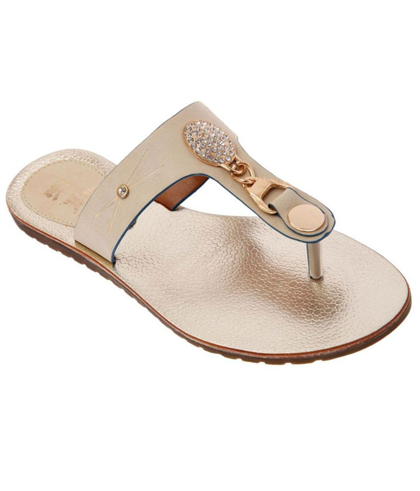 RS By Rock Star Trendy Beige Flats