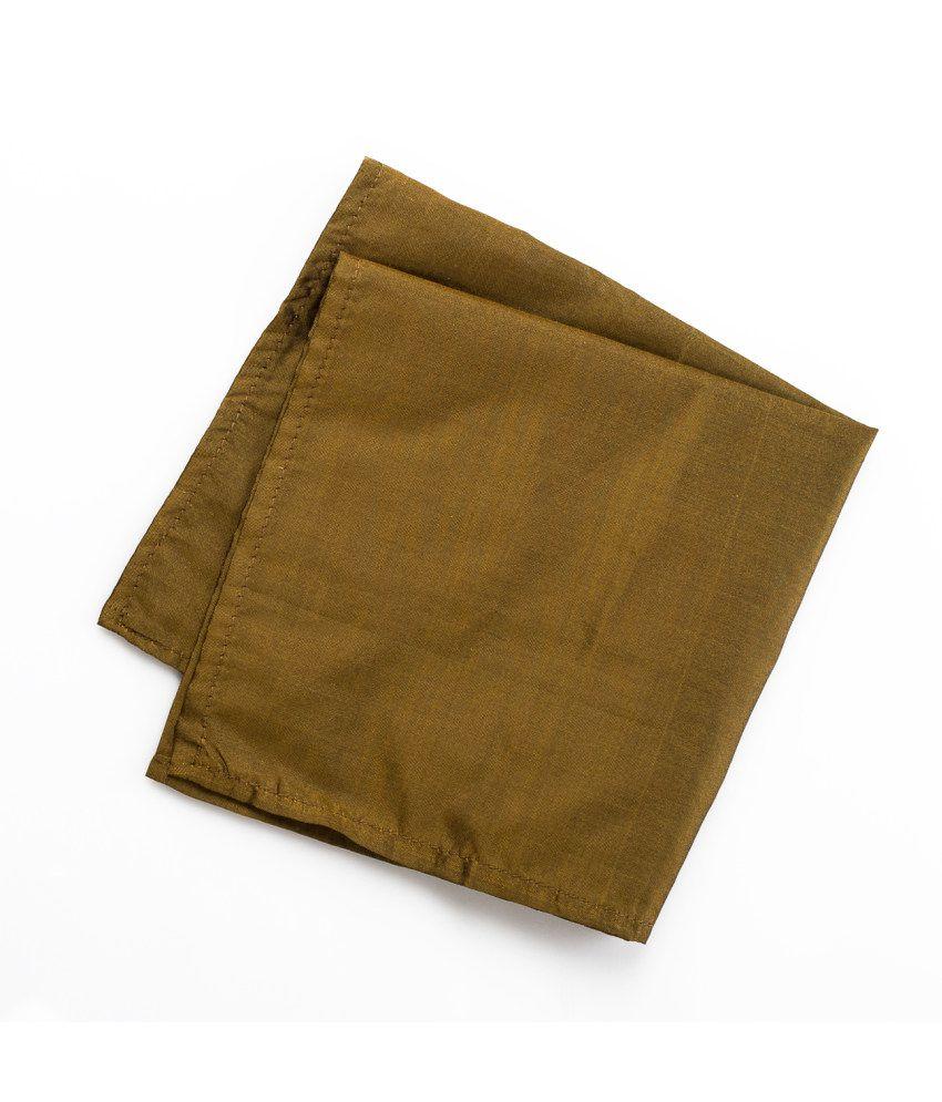 69th Avenue Brown Silk Pocket Square