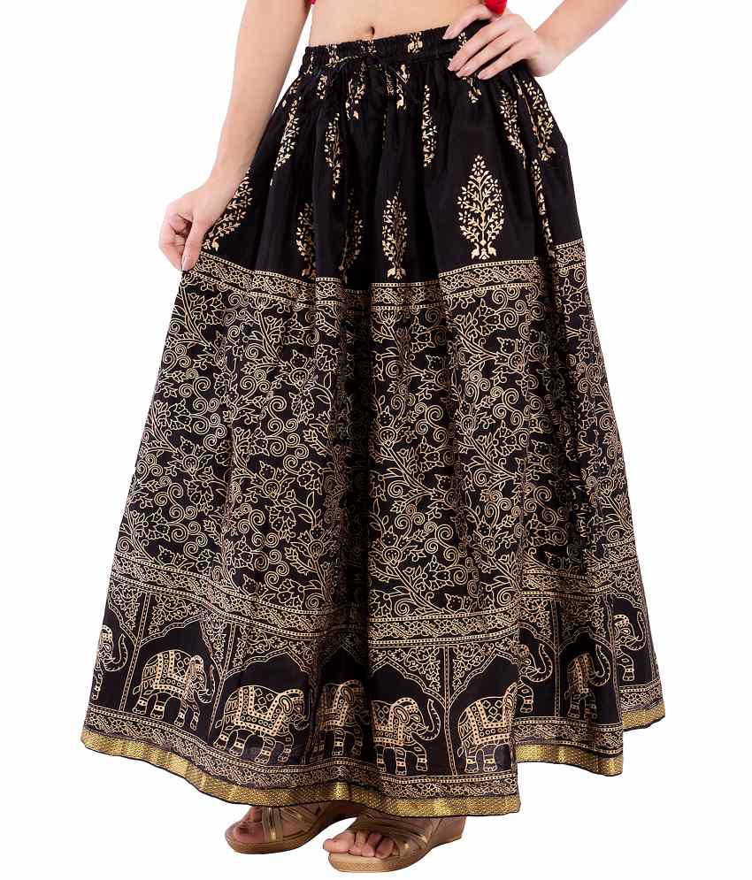 Buy Decot Paradise Cotton Maxi Skirt Online at Best Prices in ...