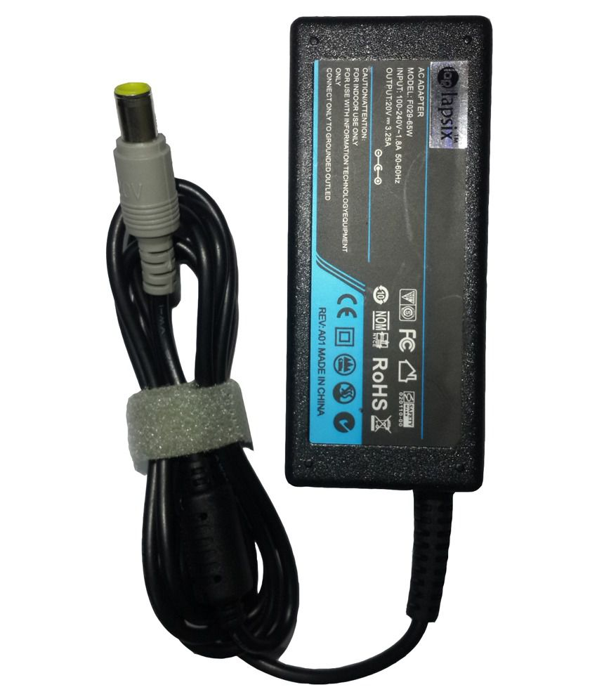 Lapsix 65w AC Laptop Adapter For Lenovo 3000 V100/ Pa-1900-171