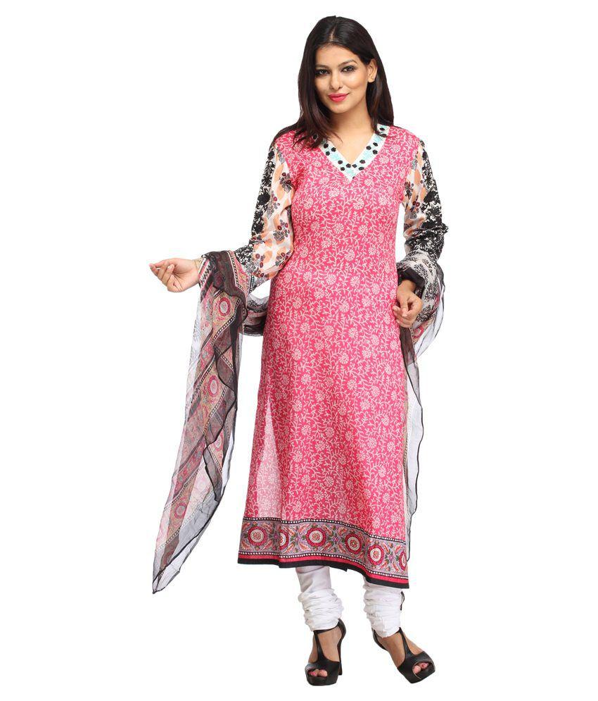 Mubaarak Multi Cotton Stitched Suit