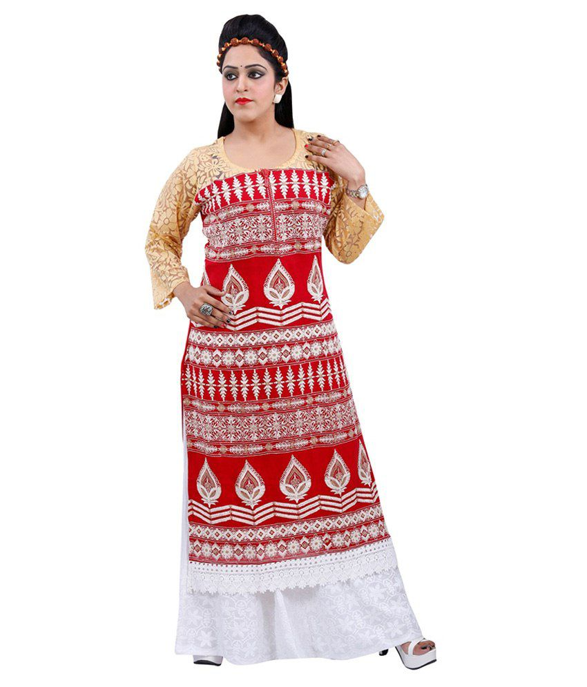Maurya Mix N Match Multi Color Cotton Semi Stitched Dress Material