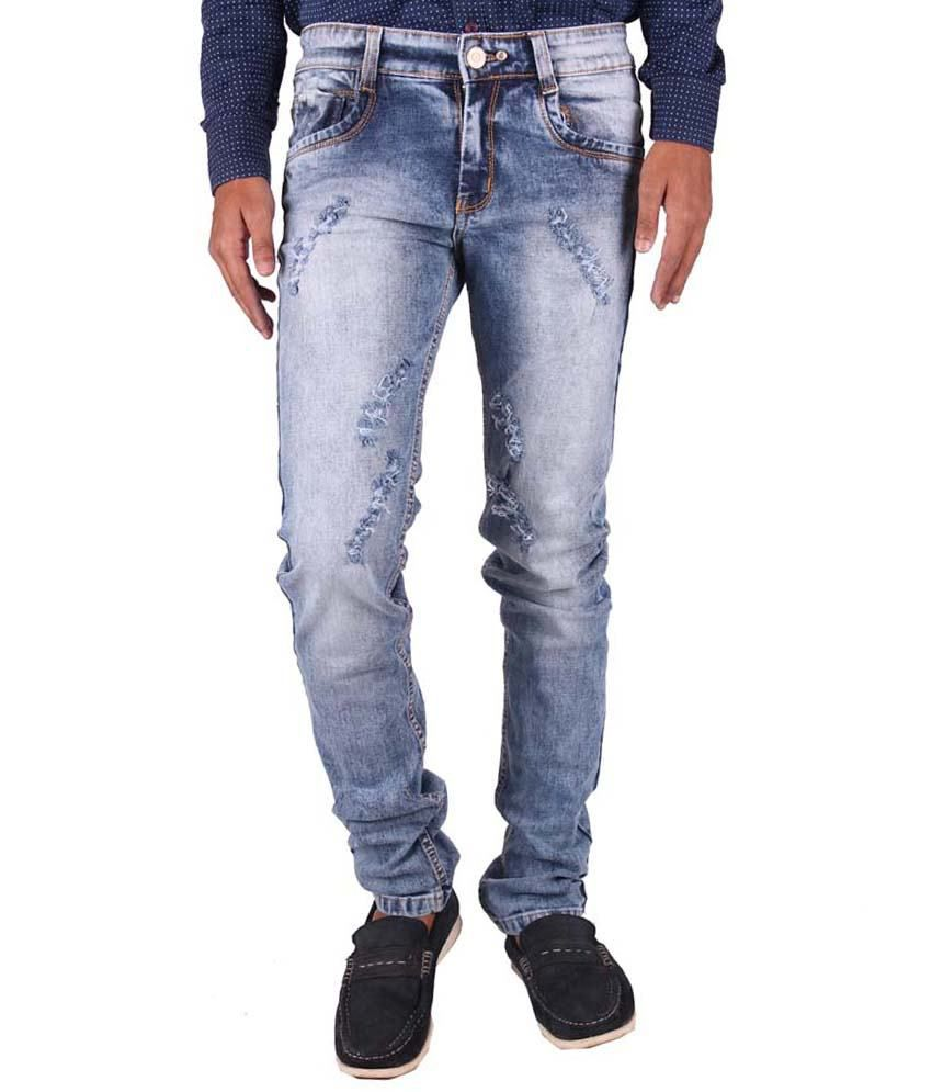 Gasconade Blue Slim Fit Jeans