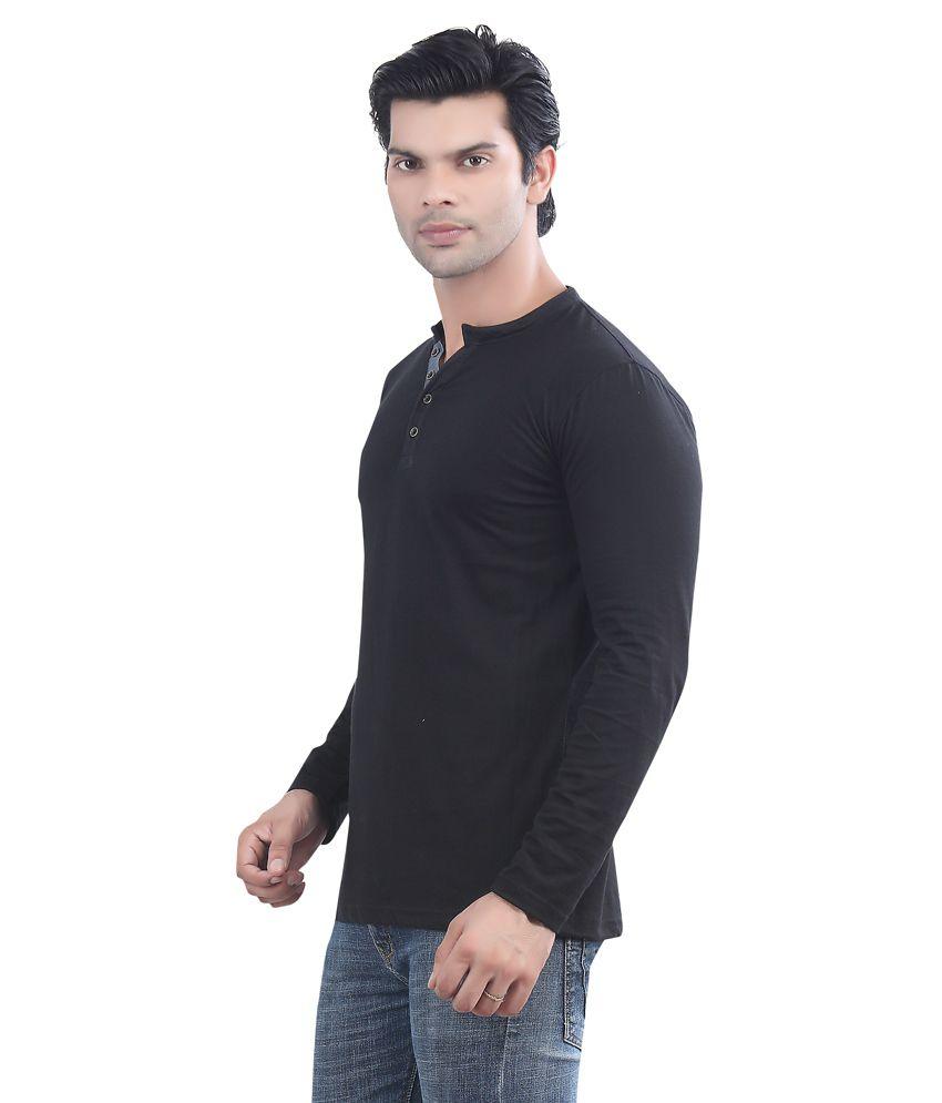 Black t shirt on flipkart -  Maniac Multicolour Cotton T Shirt Pack Of 3