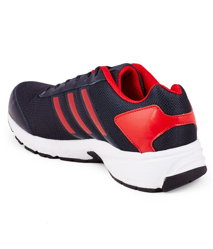 adidas black and red sport shoes