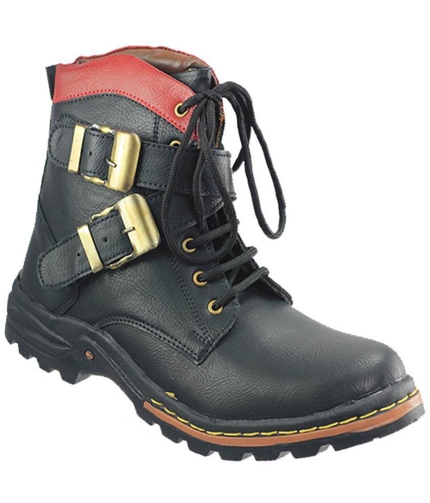 Dziner Black Boots