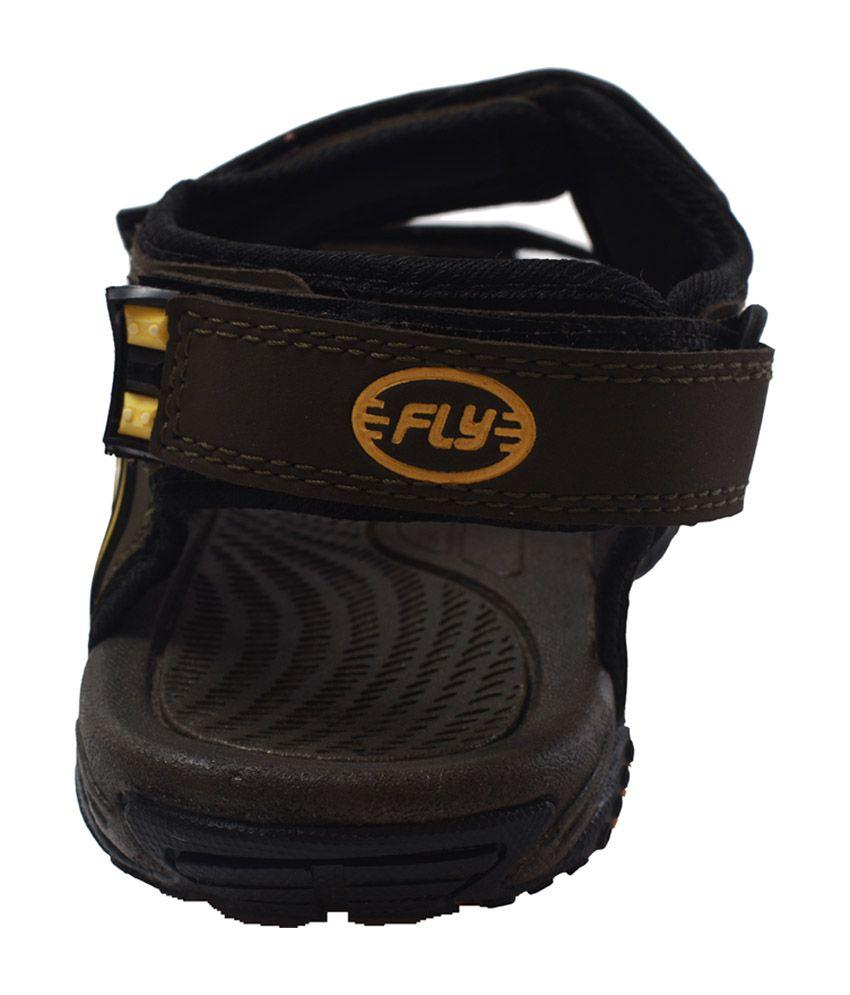 db0ea2943f0de Flaps Black Floater Sandals - Buy Flaps Black Floater Sandals Online ...
