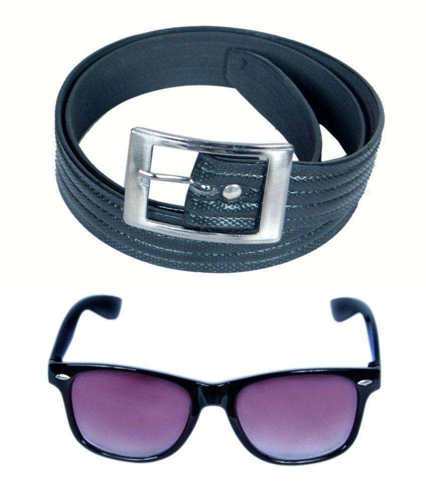 KVELL Be Proud Present's Combo Of Soft Black , Shinning Black Belt & Black-Purple Wayfare