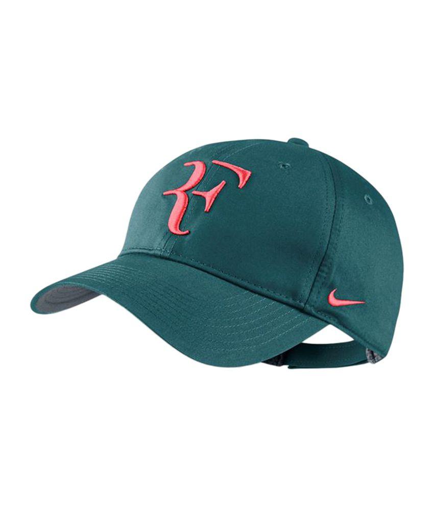 5f2408084ceb4 Nike Roger Federer Unisex Tennis Cap - Green - Buy Online   Rs ...