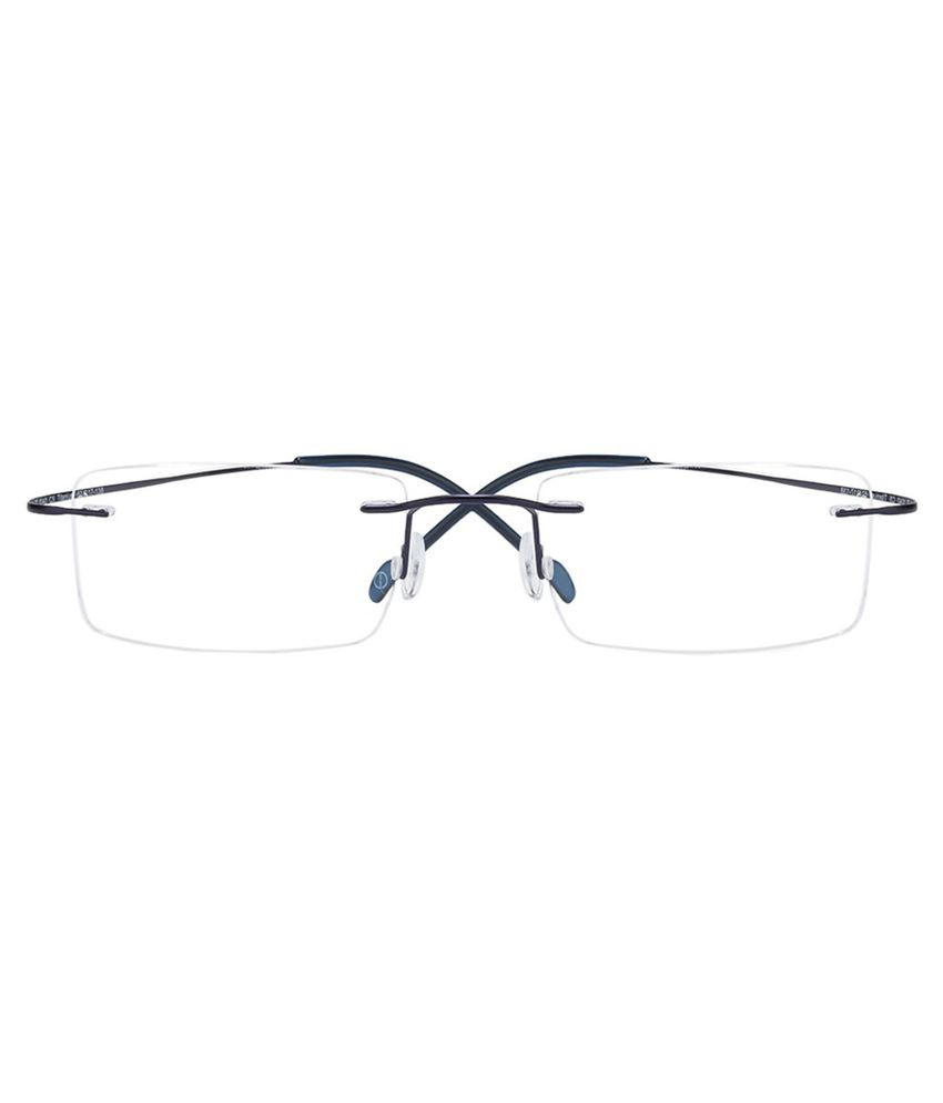 4ec2625b2514 Odyssey Blue Rimless Frame-Eyeglasses Odyssey Blue Rimless Frame-Eyeglasses  ...