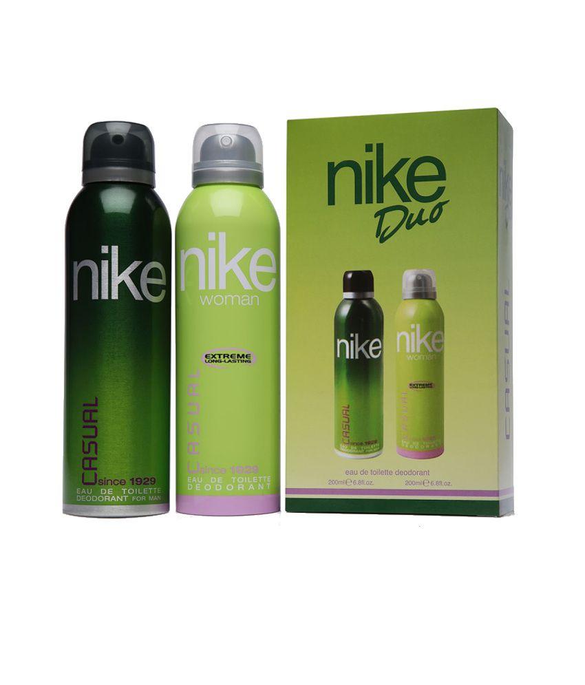 Nike Combo of Casual Duo Deodorant 200 ml (Pack of 2)