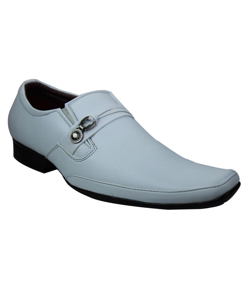 White Formal Shoes Online India