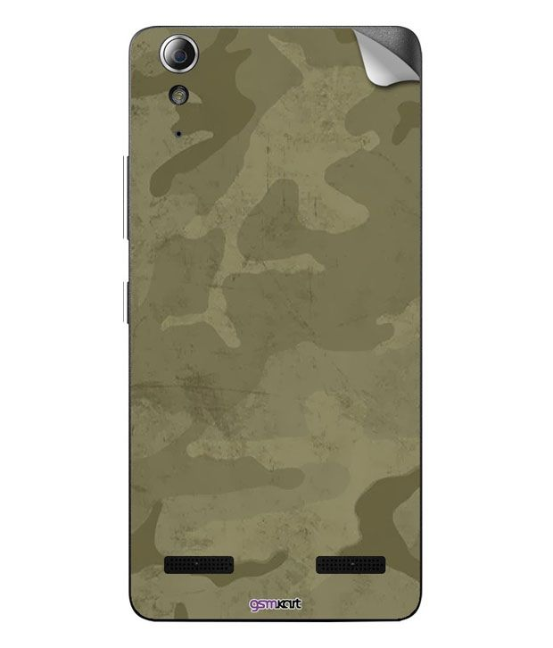 Gsmkart Mobile Skin For Lenovo A6000 - Multicolour