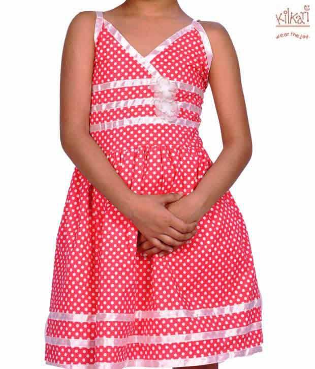 Kilkari Gorgeous Red Strap Dress