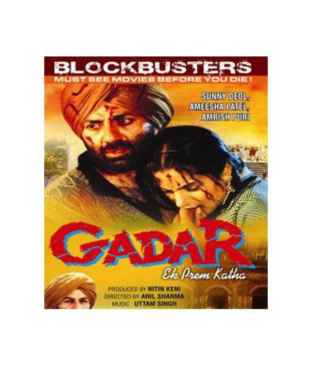 Gadar: Ek Prem Katha (Hindi) [DVD]: Buy Online at Best Price in India -  Snapdeal