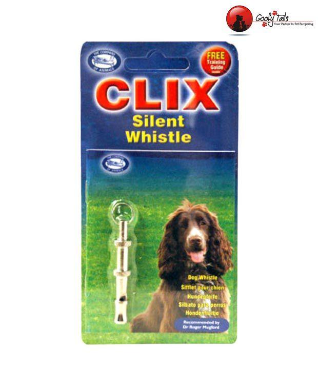 Clix Silent Dog Training Whistle