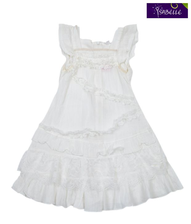 Isabelle Lovely White Frock