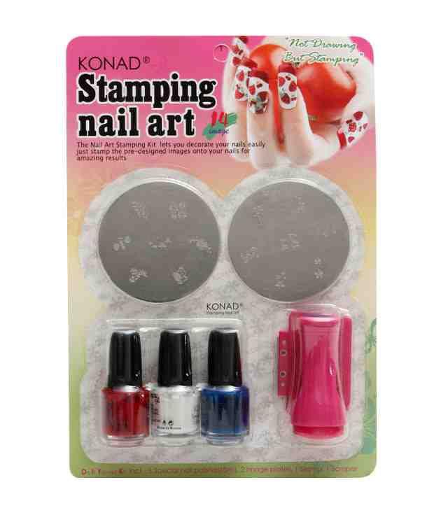 Konad Stamping Nail Art 14Images  Set C