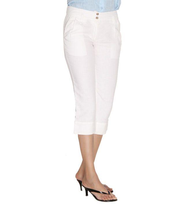 Laven Elegant White Capri