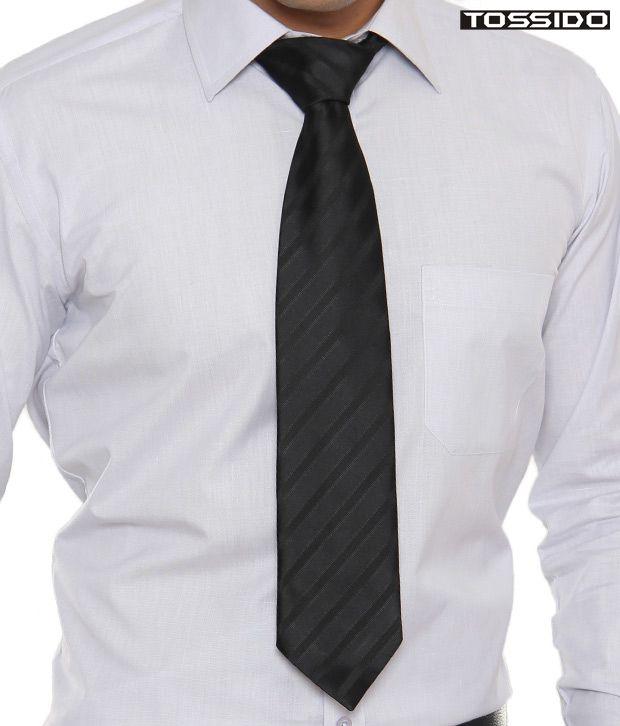 Tossido Modish Black Tie