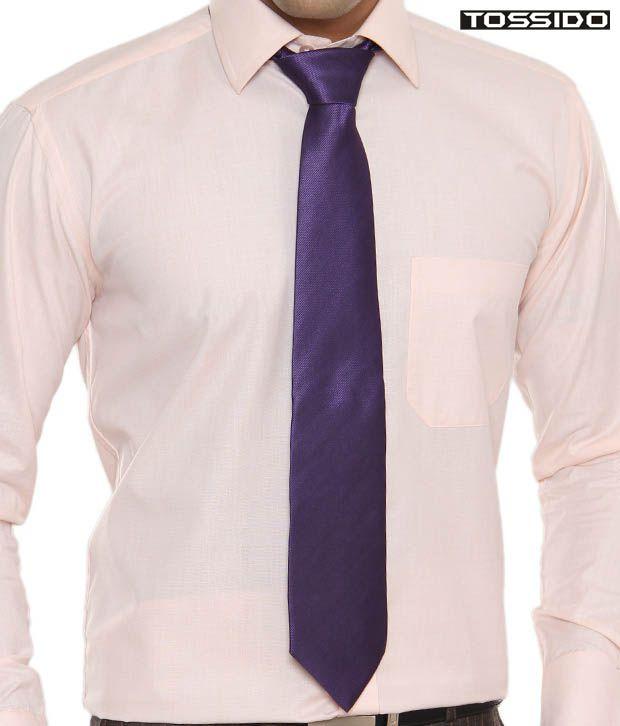 Tossido Stunning Purple Tie