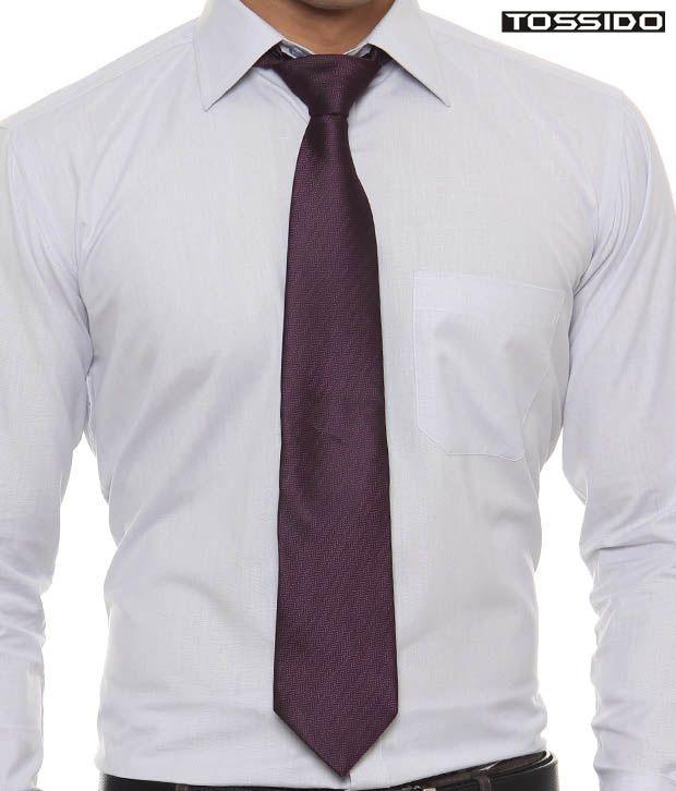 Tossido Classy Purple Tie