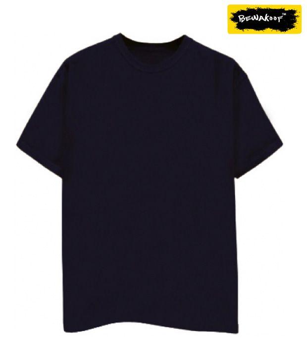 Navy Blue Plain T-Shirt - Buy Navy Blue Plain T-Shirt ...