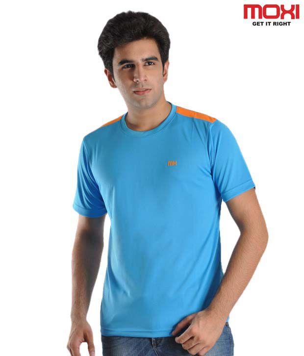 Moxi Bright Blue T-Shirt
