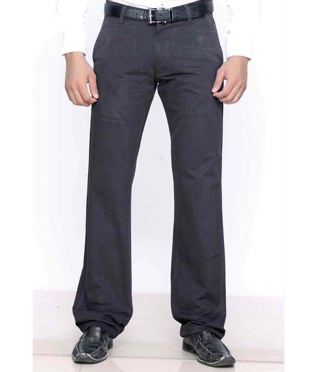 Highlander Dark Grey Trousers
