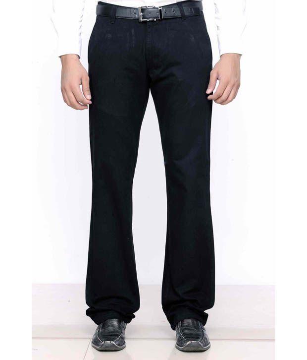 Highlander Black Trousers