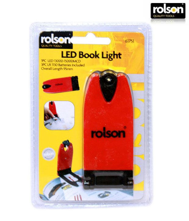 Rolson Book Torch With One Led Light