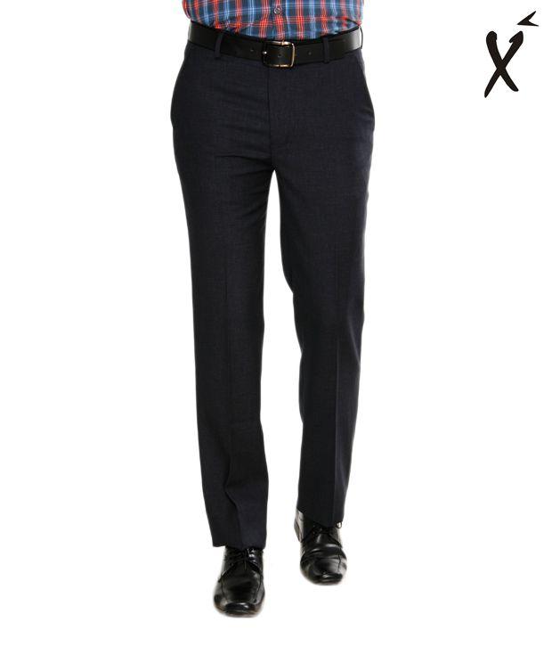 Xenia Classic Navy Blue Trouser