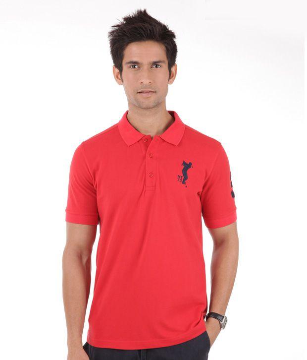 Yepme Blazing Red T-Shirt