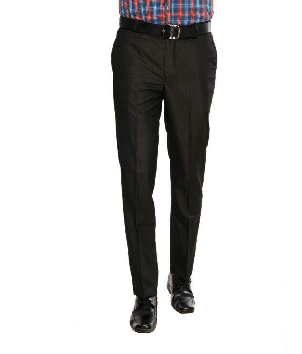 Viggo Sophisticated Black Trousers