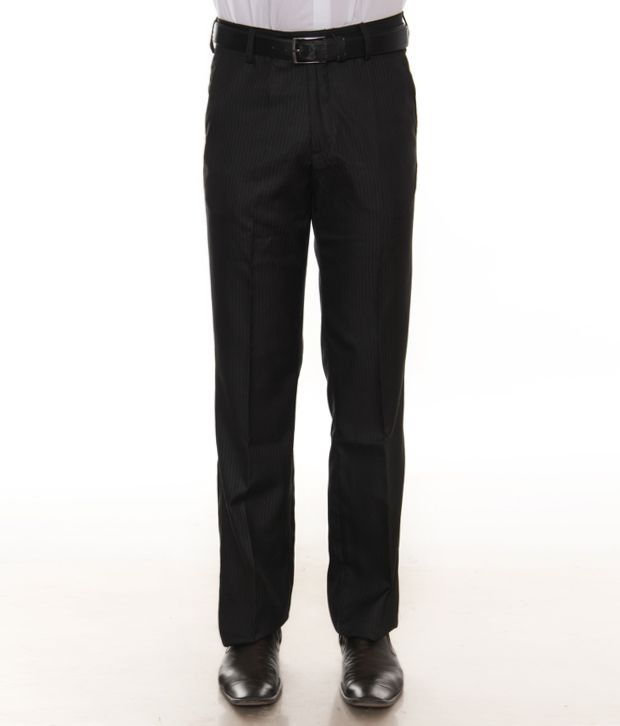 Mark Taylor Black Trousers