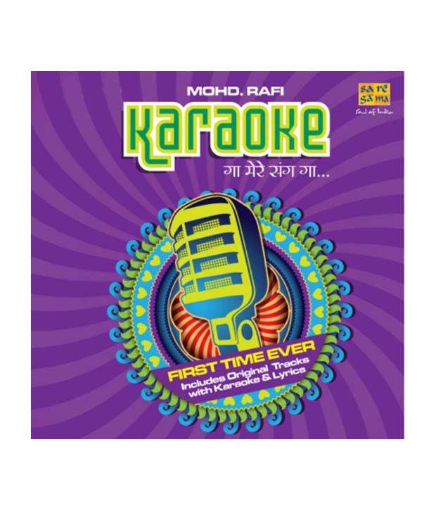 Karaoke : Gaa Mere Sang Gaa : Mohd  Rafi (Audio CD): Buy