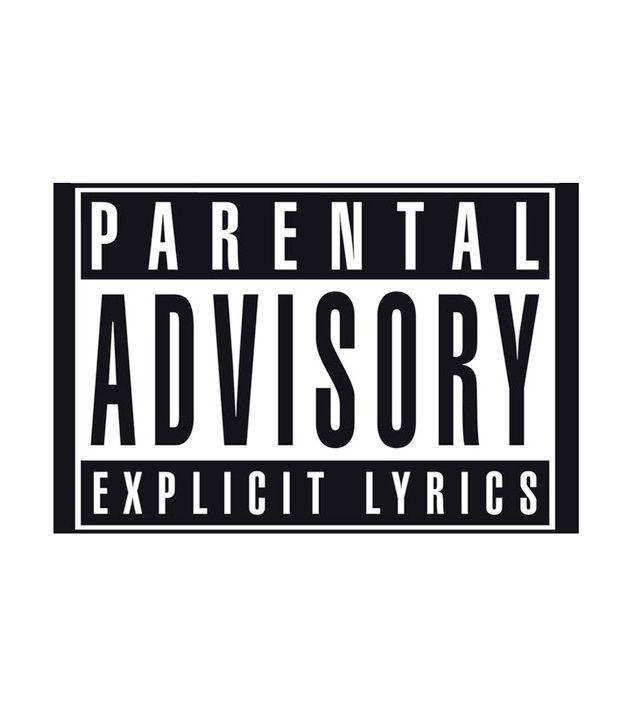 Parental Advisory Logo 24 X 36 Inches Buy Parental