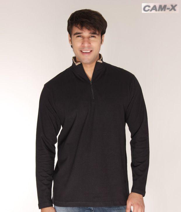 Cam-X Navy Half-Zip Sweatshirt
