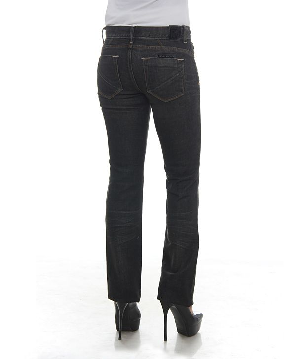 Buy DKNY Black Manhattan Bootcut Jeans Online at Best Prices in ...