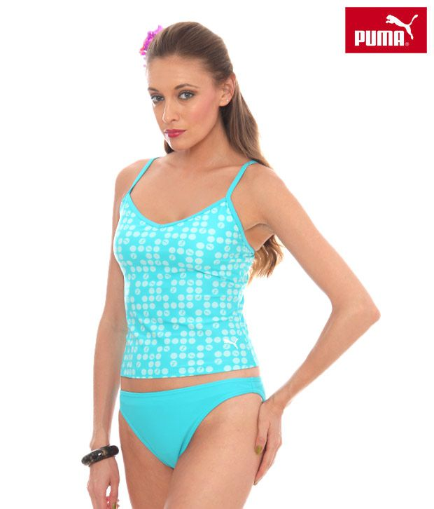 784f3c205 Buy Puma Turquoise Blue Tankini Set Online at Best Prices in India -  Snapdeal